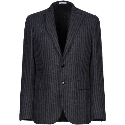 ボリオリ BOGLIOLI テーラードジャケット ダークブルー 48 麻 74% / ナイロン 26% テーラードジャケット