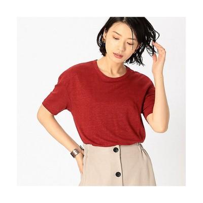 <COMME CA ISM(Women)/コムサ イズム> フレンチリネン Tシャツ(1260TL29) 10【三越伊勢丹/公式】