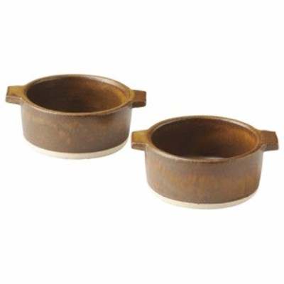 即日発送 信楽焼 ヤマ庄陶器 Hangout 12cm 皿 グリル 鍋 ペア お祝い プレゼント ギフト
