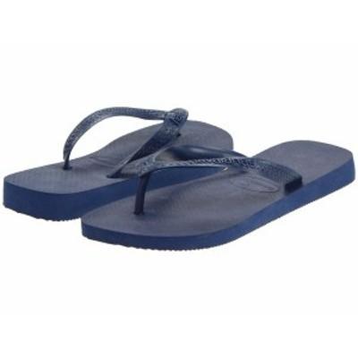 ハワイアナス レディース サンダル シューズ Top Flip Flops Navy Blue