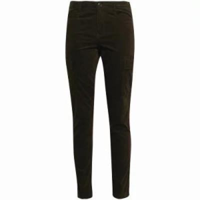 ヴィンス スキニー・スリム Cotton-blend corduroy skinny pants Army green