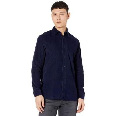 セレクテッドオム メンズ シャツ トップス Henley-Cord Shirt