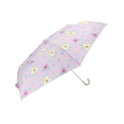 (BACKYARD/バックヤード)amusant sous la pluie 耐風折りたたみ傘 55cm/レディース ブルー