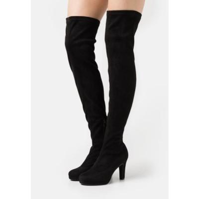 アンナフィールド レディース ブーツ High heeled boots - black
