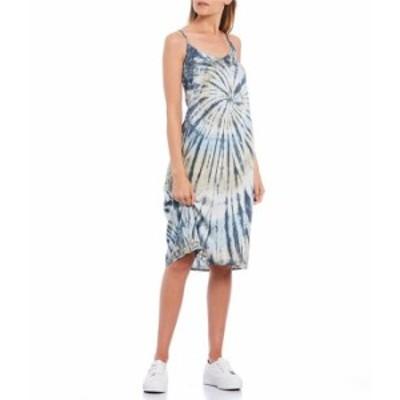 ボルコム レディース ワンピース トップス Dyed Dreams Tie-Dye Slip Midi Dress Multi
