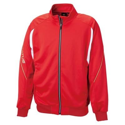 ゼット PROSTATUS トレーニングジャケット レッド ZETT BPRO200S 6400