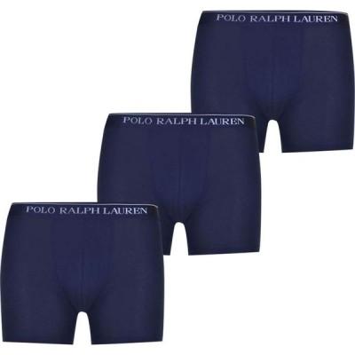 ラルフ ローレン Polo Ralph Lauren メンズ ボクサーパンツ 3点セット インナー・下着 3 Pack Boxers Cruise Navy