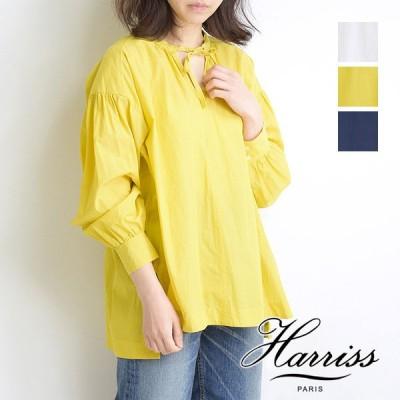 Harriss ハリス リボンギャザーブラウス FS211-01007 レディース