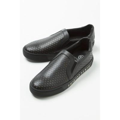 フィリッププレイン スニーカー スリッポン シューズ 靴 メンズ S17S MSC0063 ブラック PHILIPP PLEIN