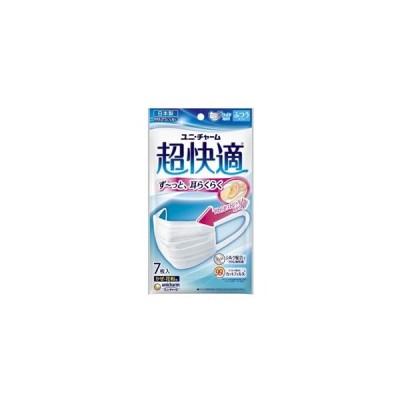ユニ・チャーム 超快適マスク プリーツタイプ ふつうサイズ 7枚入 (マスク)