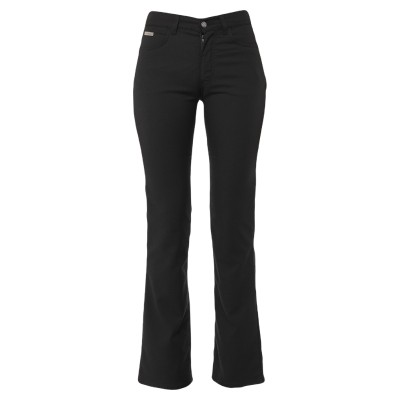 YOOX - CALVIN KLEIN JEANS パンツ ブラック 27W-32L ポリエステル 56% / レーヨン 42% / ポリウレタン