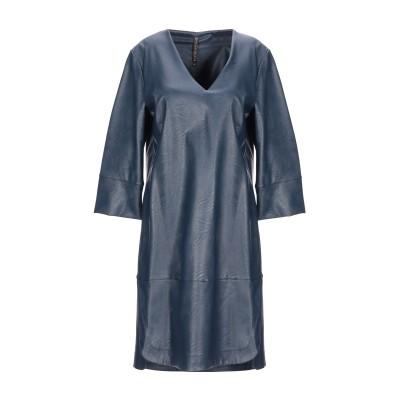 マニラ グレース MANILA GRACE ミニワンピース&ドレス ダークブルー 38 ポリエステル 100% / ポリウレタン ミニワンピース&ド