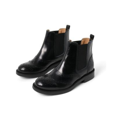 YOSUKE / 「YOSUKE/ヨースケ」日本製本革サイドゴアショートブーツ WOMEN シューズ > ブーツ