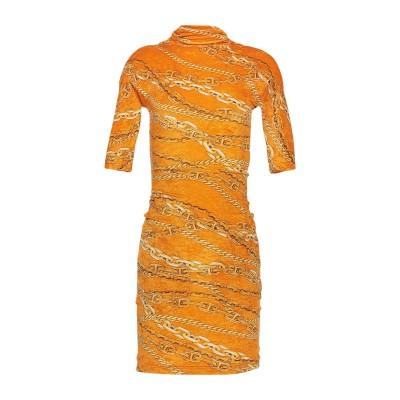 バレンシアガ BALENCIAGA ミニワンピース&ドレス オークル 36 ナイロン 85% / ポリウレタン 15% ミニワンピース&ドレス