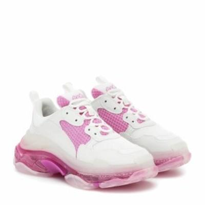 バレンシアガ Balenciaga レディース スニーカー シューズ・靴 Triple S sneakers White/Pink