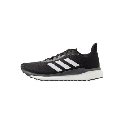 アディダス シューズ メンズ ランニング SOLAR DRIVE 19 - Neutral running shoes - core black/footwear white/grey six