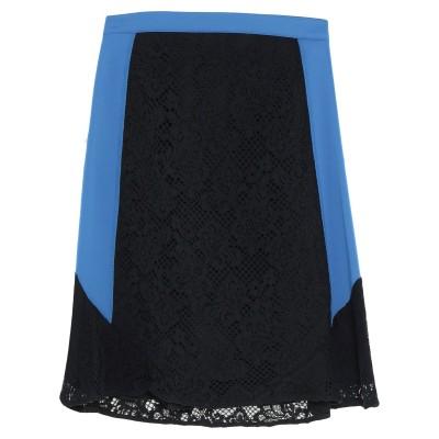 ピンコ PINKO ひざ丈スカート ブラック 40 コットン 98% / ナイロン 2% / ポリエステル / ポリウレタン ひざ丈スカート