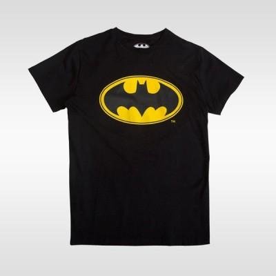 BATMANフィットTシャツバットマン コラボ Tシャツ メンズ Mens Tshirt 半袖 半そで 無地 半袖Tシャツ プリントTシャツ Tシャツ