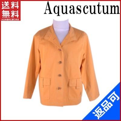 [半額セール!] アクアスキュータム Aquascutum ジャケット ロゴ 中古 X5882