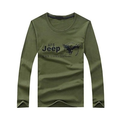 CHROME CRANE(クロム クレイン) Tシャツ ロンT 長袖 カットソー イーグル JEEP ロゴ デザイン インナー メンズ LP