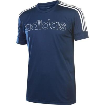アディダス adidas メンズ Tシャツ トップス Sereno Graphic T-Shirt Navy