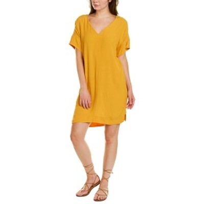 メイドウェル レディース ワンピース トップス Madewell Novel Shift Dress yellow