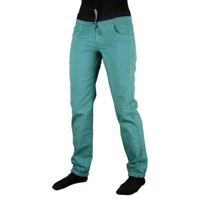 トランゴワールド カジュアルパンツ レディース ボトムス Trangoworld Ninja Pants Woman Ocean Blue