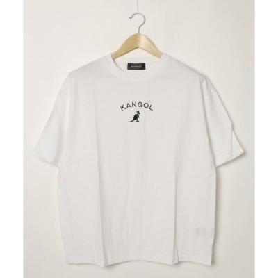 tシャツ Tシャツ 【KANGOL/カンゴール】サイドスリットTシャツ ビッグシルエット ワンポイント刺繍