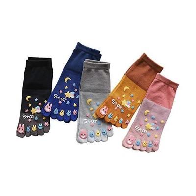 5本指ソックス レディース 靴下 セット 女性用 五本指ソックス 可愛い おしゃれ 5本指 レディースソックス 綿 通気