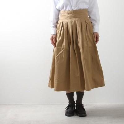 (4/1再入荷)GRANDMA MAMA DAUGHTER[グランマママドーター]チノプリーツスカート GK001