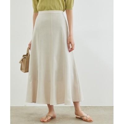 【ロペピクニック/ROPE' PICNIC】 リフラクスキャンバスマーメイドスカート