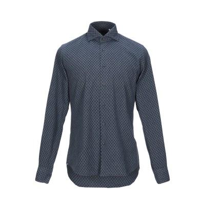 XACUS シャツ グレー 38 コットン 100% シャツ
