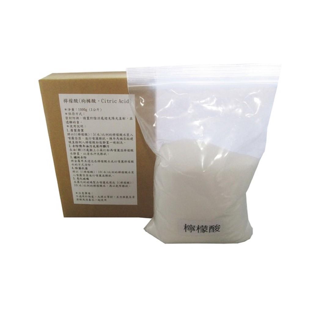 檸檬酸(枸櫞酸,Citric Acid)食品級/1000g(1公斤)