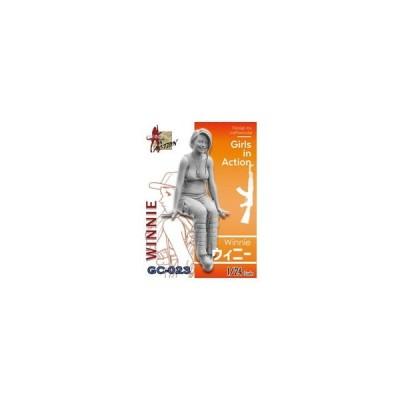 トリファクトリー 1/ 24 ガールズインアクションシリーズ ウィニー(GC-023)プラモデル 返品種別B