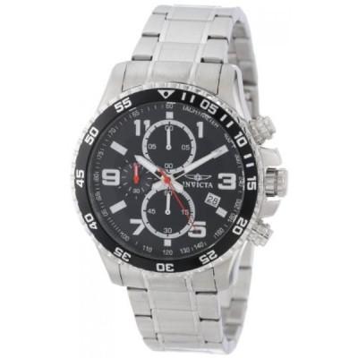 インビクタ 腕時計 メンズウォッチ Invicta Men's 14875 Specialty Chronograph Black Textured Dial Stainless Steel Watch