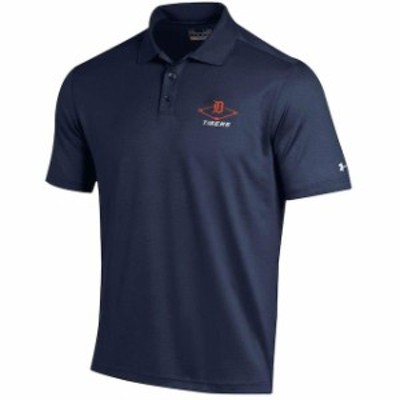 Under Armour アンダー アーマー スポーツ用品  Under Armour Detroit Tigers Navy MLB Performance Polo