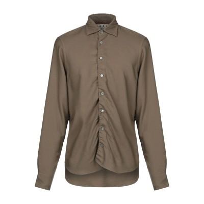 マルニ MARNI シャツ カーキ 48 バージンウール 100% シャツ