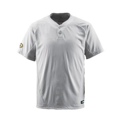 DESCENTE(デサント) DB-201 カラー:SLV サイズ:O 2ボタンTシャツ