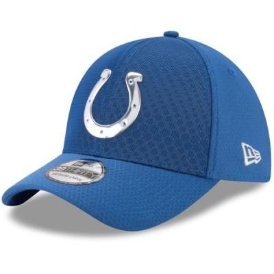 ユニセックス スポーツリーグ フットボール Indianapolis Colts New Era 2017 Color Rush 39THIRTY Flex Hat - Royal 帽子