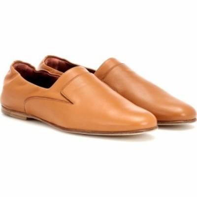 ロロピアーナ Loro Piana レディース ローファー・オックスフォード シューズ・靴 Canebiers leather loafers Tan