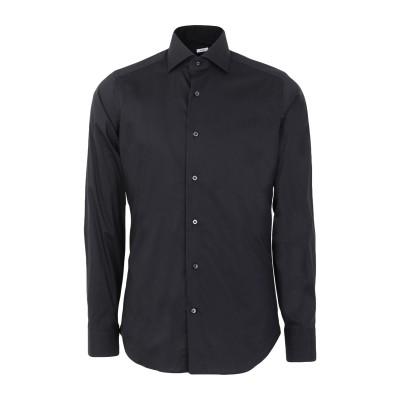 カリバン CALIBAN シャツ ブラック 38 コットン 70% / ナイロン 27% / ポリウレタン 3% シャツ