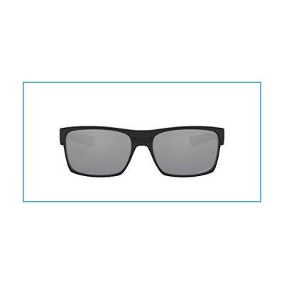 Oakley Men's OO9189 TwoFace Square Sunglasses, Polished Black/Prizm Black, 60 mm【並行輸入品】