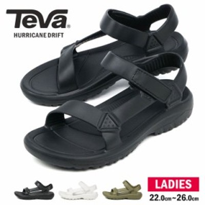 TEVA テバ ハリケーン ドリフト HURRICANE DRIFT サンダル レディース ストラップ スポーツサンダル アウトドア 黒 ブラック 白 ホワイト
