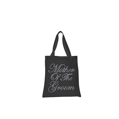 Black Mother Of The Groom Crystal Wedding Favour Tote Bags personalised bri