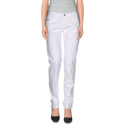 ホーガン HOGAN パンツ ホワイト 28 コットン 98% / ポリウレタン 2% パンツ