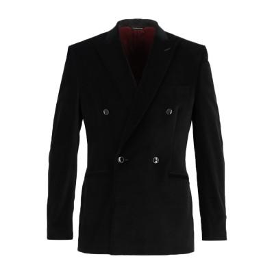 トネッロ TONELLO テーラードジャケット ブラック 48 コットン 98% / ポリウレタン 2% テーラードジャケット