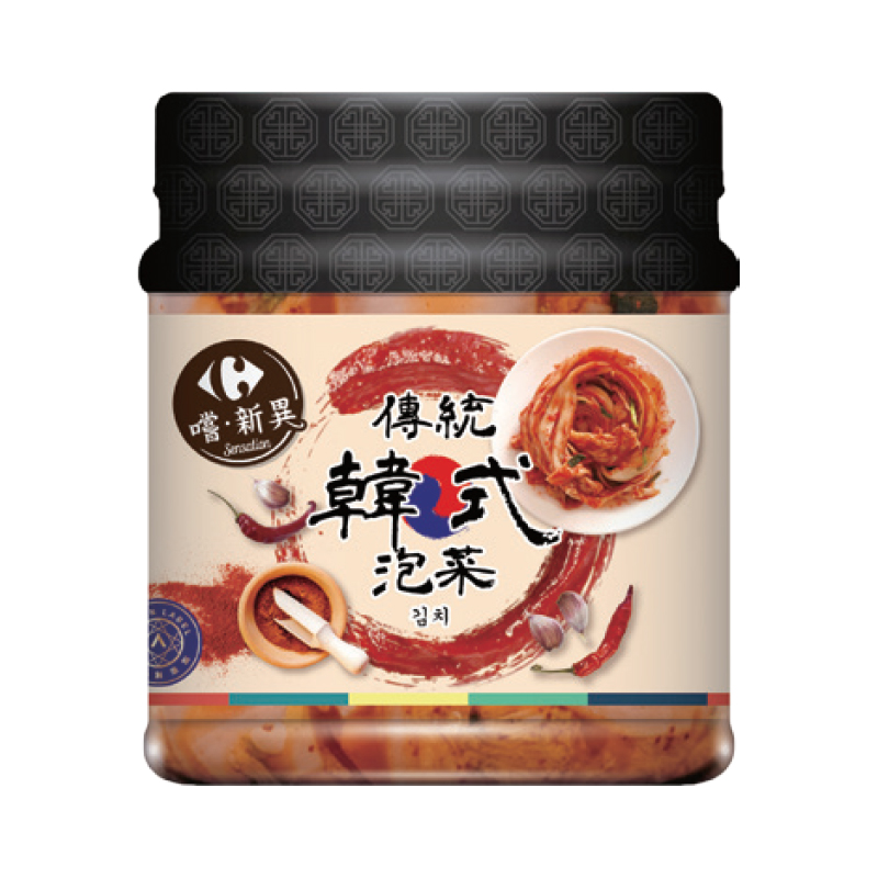 家樂福傳統韓式泡菜