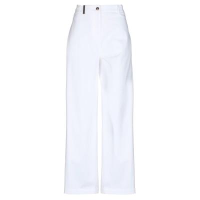 ペゼリコ PESERICO パンツ ホワイト 42 コットン 98% / ポリウレタン 2% パンツ