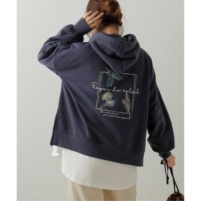 tシャツ Tシャツ BACKプリントパーカープルオーバー