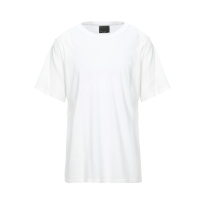 DARK LABEL T シャツ ホワイト S コットン 100% T シャツ